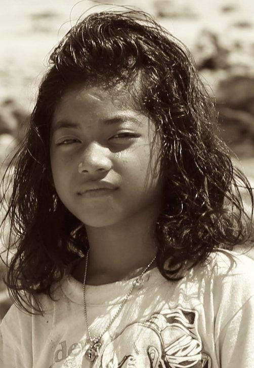 Polowat Island Girl